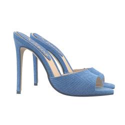 SEXY BLUE JEANS SANDAL