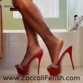 Zoccoli con tacco 17,5 & plateau  Kh105  Disponibili qui —->https://bit.ly/2R4PYPw Your erotic Shoe ❤️ 100% MADE IN ITALY 100% HANDMADE 100% SATISFIED - Contact us. ☎ 0815765297 📲 WhatsApp 3332624851 ▶️Instagram Direct. ▶️Facebook - - - - - - - - - - - #stilettos #heelslover #zoccolisexy #shoppingonline #heel #heels #sandaligioiello #heellove #zoccolicontacco #heeladdict #shopping #tacchisexy #redclogs #heelsfetish #shoesaholic #shoesaddiction #shoeporn #redheels #zoccolialti #mules #mulesandals #zoccolifetish #piedisexy #feetworship #follow #followme #seguimi #seguici #followers #likethis